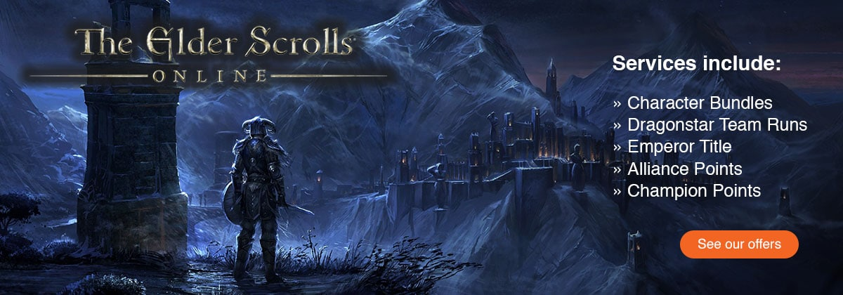 Elder Scrolls Online Powerleveling Services by Gaming on Top